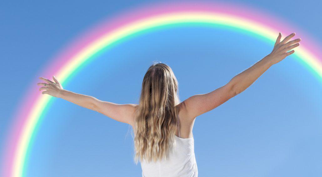 rainbow manifesting